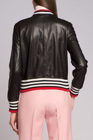 Купить Куртка кожаная Gucci