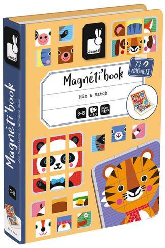 """Купить Книга-игра """"найди и сопоставь"""" магнитная Janod"""