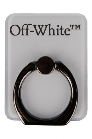 Купить Кольцо-держатель для телефона с логотипом OFF WHITE