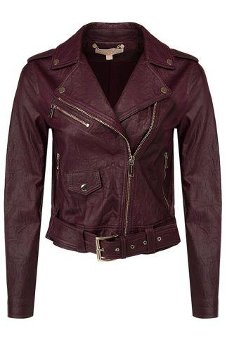 Купить Куртка кожаная MICHAEL KORS