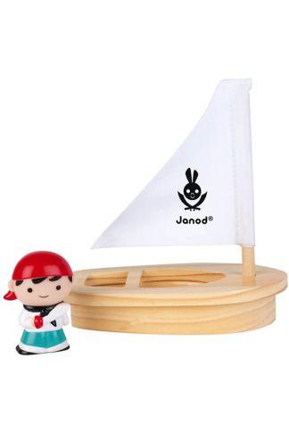 """Купить Набор для воды """"боцман джон мосс и его лодка"""" Janod"""