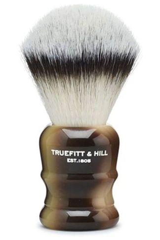 Купить Кисть для бритья синтетическая/рог /wellington TRUEFITT & HILL