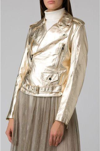 Купить Куртка кожаная MANOKHI