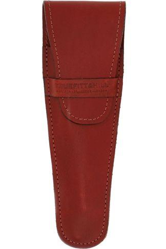 Купить Кожаный чехол для бритвы (коричневый) TRUEFITT & HILL