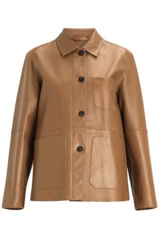 Купить Куртка кожаная MAX MARA WEEKEND
