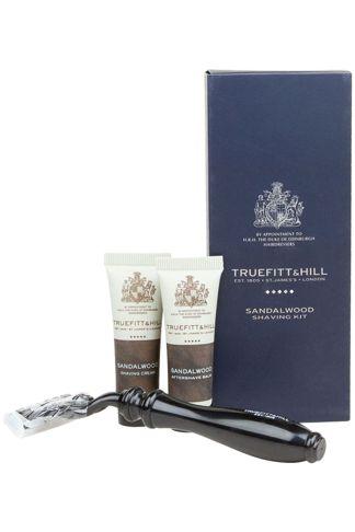 Купить Дорожный набор sandalwood shaving kit TRUEFITT & HILL