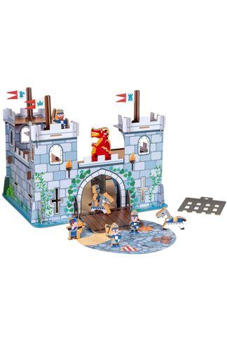 Купить Набор игровой замок и рыцари Janod