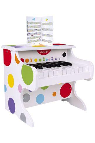 Купить Электронное пианино белый Janod