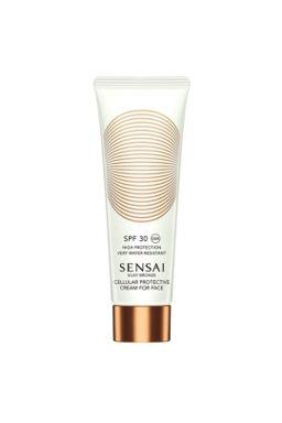 Купить Silky bronze солнцезащитный крем для лица (50 мл) spf30 SENSAI