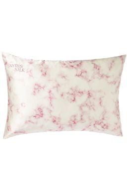 Купить Наволочка из нат шёлка(розовый мрамор) Beauty Sleep